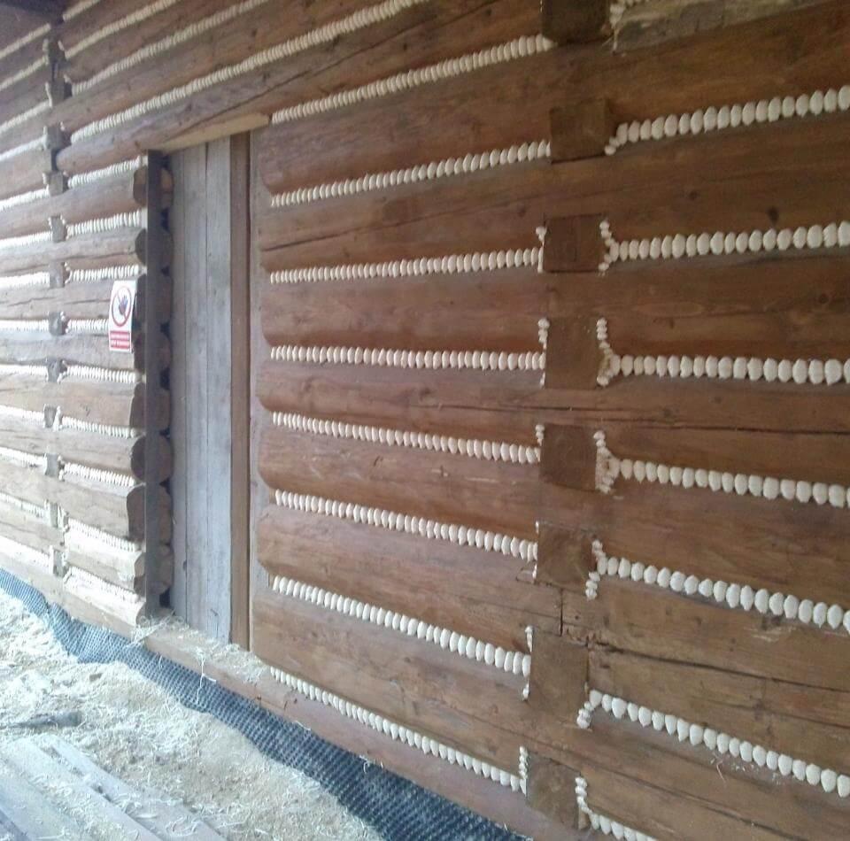 ocieplenie drewnianego domu